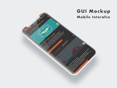 Iphone X Iso77 Mobile mobile ux ui cms elegant typography graphic design user interface wordpress accessibility wcag web design