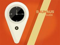 Bauhaus Clock (rebound)