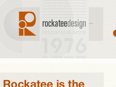 Rockatee Portfolio Progress rockatee website portfolio