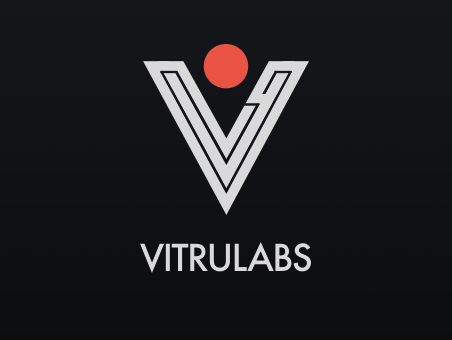 2019 06 17 vitrulabs logo concept dark maleika