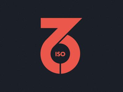 Iso76 Logo Concept (WIP) accessibility logotype logomark branding design logo vector illustration bauhaus typography