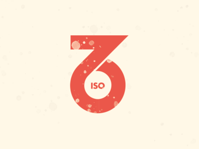 ISO76 Logo Concept B typeface graphic design logo design logo accessibility logomark branding design vector illustration bauhaus typography
