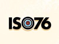 ISO76 Logo Concept 3 german contemporary modern identity logomark branding design vector illustration vintage logo bauhaus typography