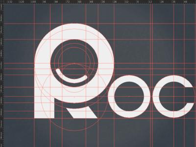 Rockatee Redesign (logo) WIP rockatee logo geometrical type type custom font bauhaus vector svg responsive design rwd retina