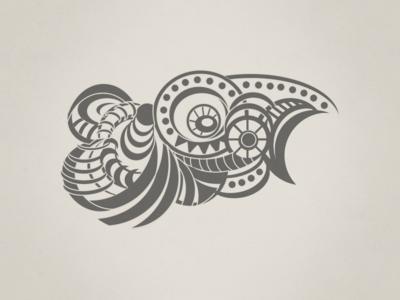 Mad Bird illustration rockatee abstract