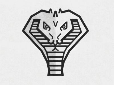 ITC Bauhaus Cobra (simplified) rockatee graphic design print illustration cobra snake geometric minimalism lettering typography font itc bauhaus bauhaus