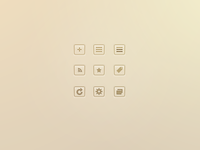 Mr Reader RSS theme icons (WIP)