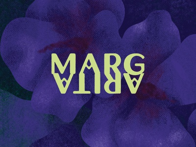 Margarita Logo margarita tiki bar cocktail fresco digital painting adobe fresco vector logo color branding illustration