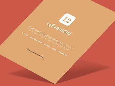 EventON new logo myeventon calendar event card events clean minimal