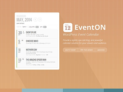 EventON site