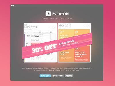 EventON Cyber Weekend cyber