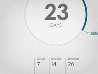 Countdown Timer concept #3