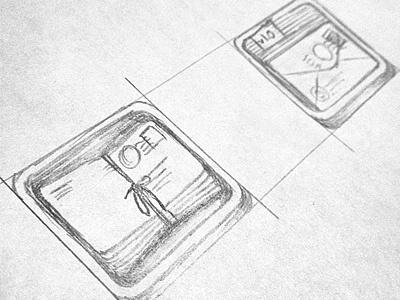 Newsletter Plugin Icon Concepts newsletter concept drawing
