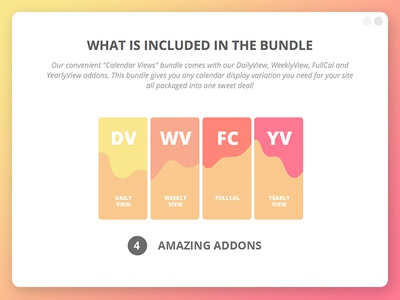 Calendar Views Bundle