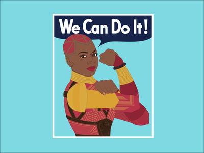 We Can Do It! Okoye