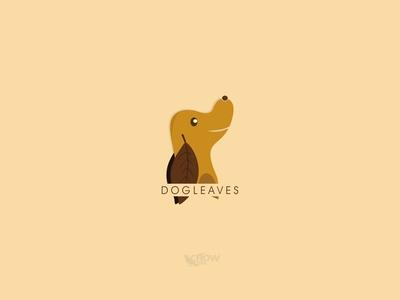 Dog Leaves Logo.
