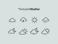 Fantastic Weather App - icons