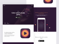 Colortica landing page