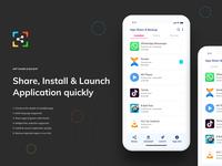 App Share & Backup - Mobile App