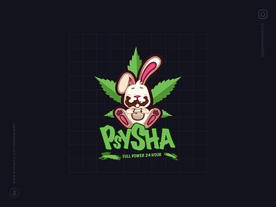 Psysha Music Logo Design logo design logotype typography vector branding logo