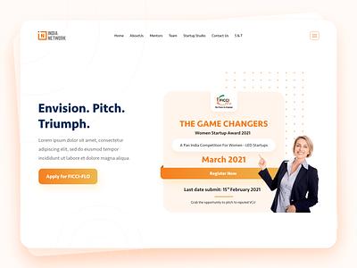 India Network Web Design website design website ui design interface web interaction design ux ui