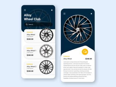Alloy Wheel Club - Mobile App