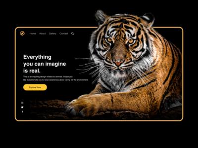 Animal Landing Page