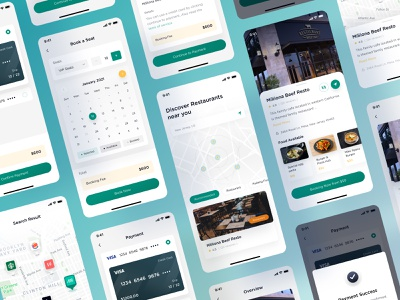 Resto - Restaurant Finder App figma food app design finder mobile design ui  ux restaurant app