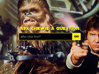 Have a Chat With Chewie!