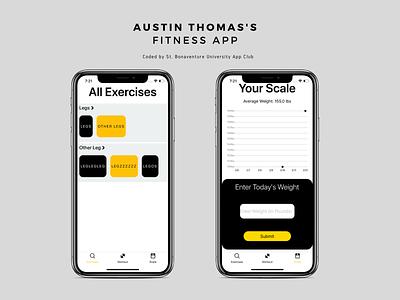 Fitness Application for SBU App Club