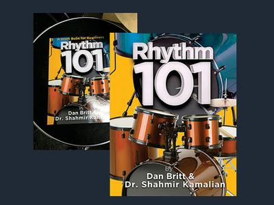 Rhythm 101 book cover design