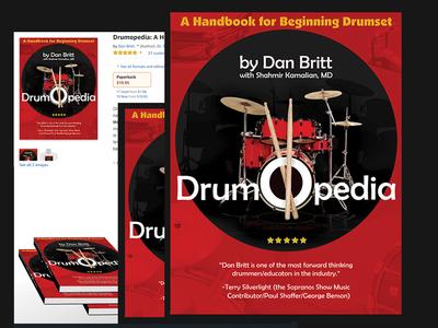 Drumopedia book cover Design