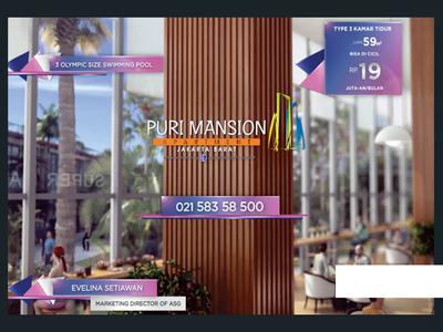 Puri Mansion Apartment TVC Template Design