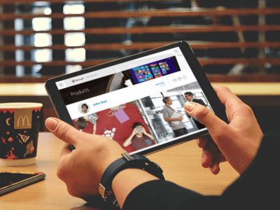 Microsoft Incentivos responsive design graphic design user experience interfaces user interface webdesign