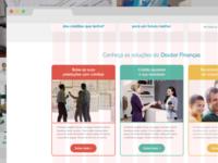 Doutor Finanças   Services page (first approach)