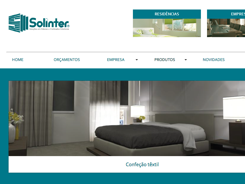 Solinter website from 2010 old stuff html flash development user interface design graphic design website