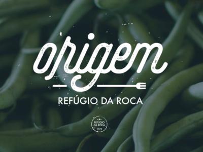 Origem Catering lettering design graphic design logotype logo