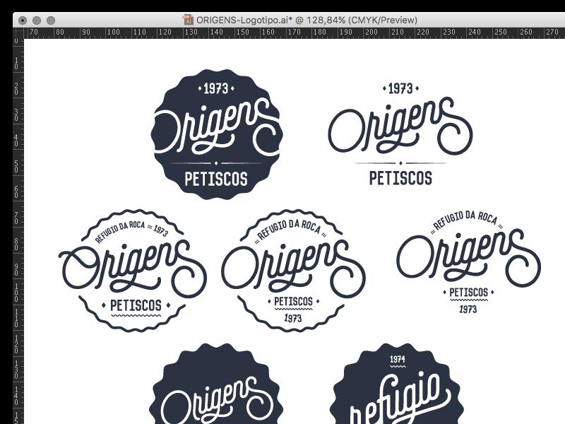 Origens Catering logotype catering catering logo restaurant logo brand brand design portugal origens catering refugio da roca logotype graphic design design