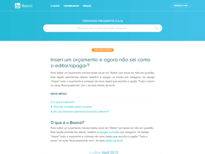 Boonzi website UI || Drafts