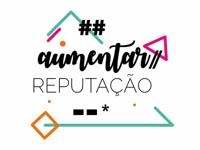 Aumentar reputação colorful inspiration phrase type