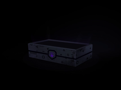 Lootbox reveal - Gaming award animation