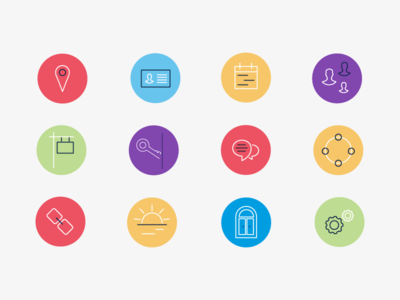 Icons for the Ontario Medical Association Website