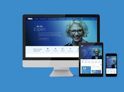 Real Estate Association Web Design