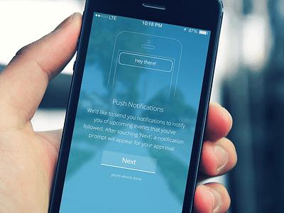 Push Notification Pre-Prompt push notifications ios iphone iphone5