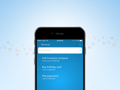 Better reminders app reminders iphone ios