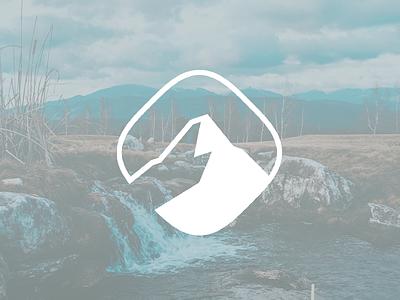 Minimalist Mountain minimalist logo mountain