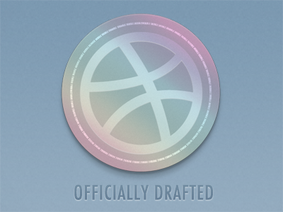 Hello Dribbble! drafted