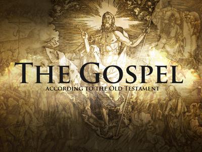 Gospel according to the Old Testament gospel series graphic series old testament christian jesus