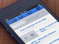 Designer News Webapp Mockup