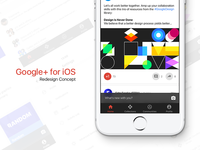 Google+ for iOS Redesign